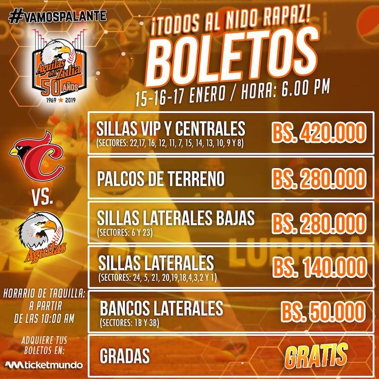 Boletos Semifinal